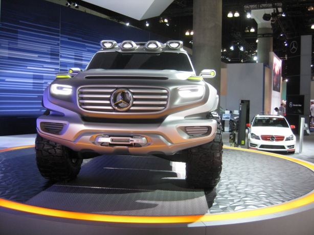 The Ener-G-Force Concept SUV from Mercedes-Benz.