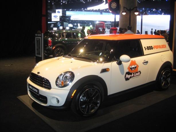 2013 Mini Cooper S Clubvan.