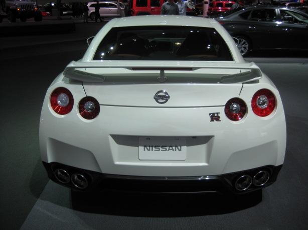2014 Nissan GT-R rear.