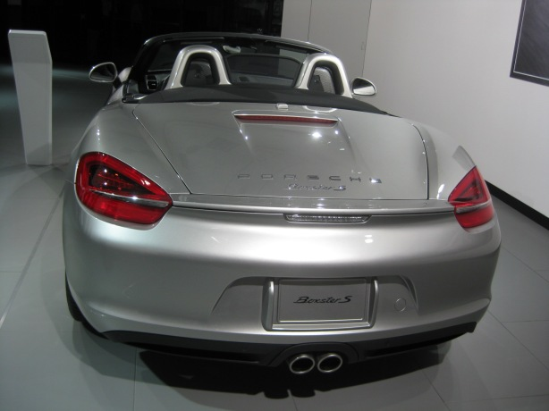 You could call it the Convertible Cayman or just the Boxster.  I love this 2013 Boxster S this special silver color.