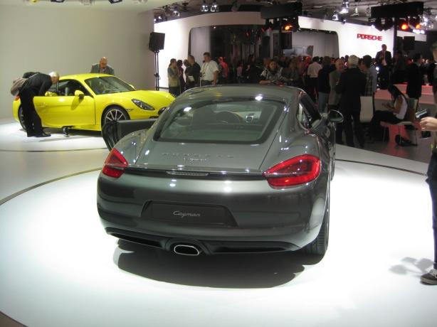 2013 Porsche Cayman.