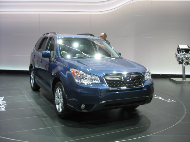 2014 Subaru Forester - Front. Is it that different from the current model?
