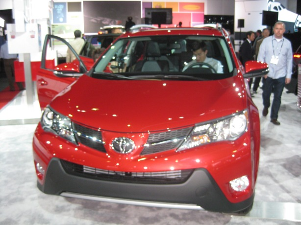2013 Toyota RAV4 SUV. The looks are fresh, if not exciting.