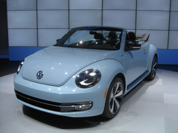 2013 VW Beetle Convertible. This one has the 2.0L turbo gasoline engine.