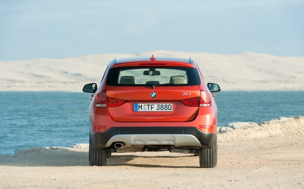 The X1 is just tall enough to qualify as an SUV. The rear kick plate is supposed to establish off-road creds; but it's more style than substance. The X1 is, at best, good for soft roads, plowed mountain roads, bad weather, etc.