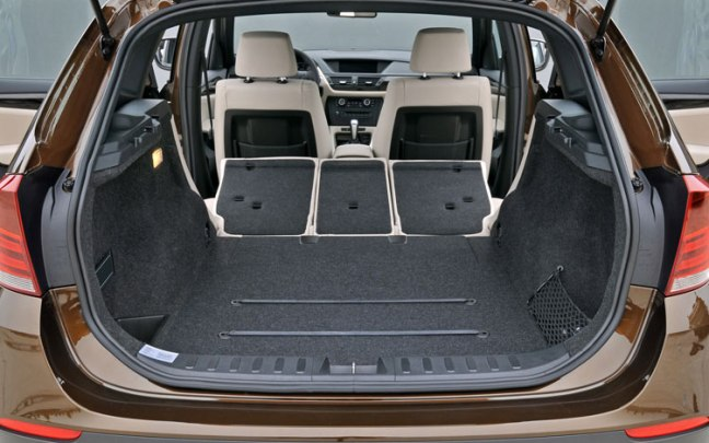 Bmw X1 Cargo Area Rear Seats Folded Todd Bianco S