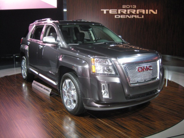 2013 Terrain Denali. I know someone must buy these, but it wasn't attracting much press attention at the show.