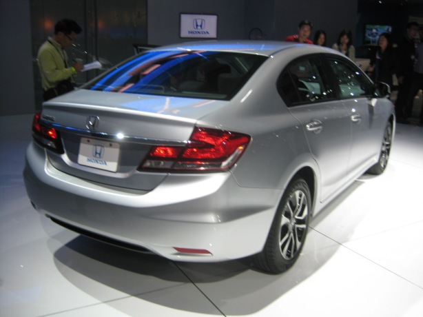 The 2013 redesign of the Civic puts Honda squarely back in the game with the very hot competition.