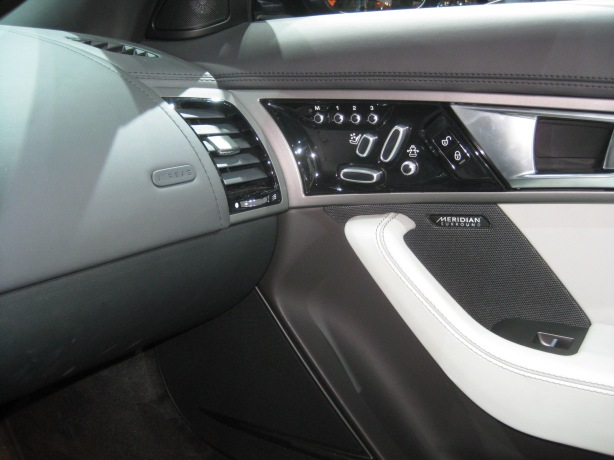 The cabin of the 2014 Jaguar F-Type S is beautifully-crafted and the switchgear is substantial and jewel-like.