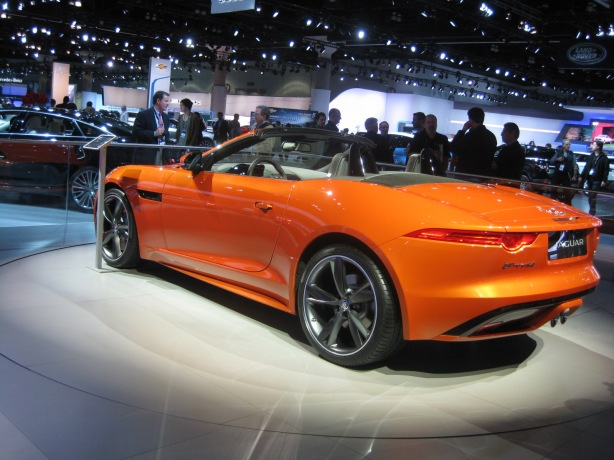 There is no bad angle for the Jag F-Type.