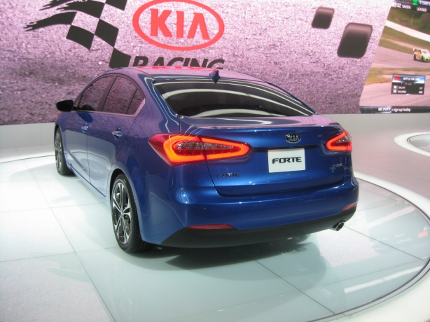 "The 2014 Kia Forte loses some of its ""German"" looks in favor of some Asian flavor. However, I still prefer its looks over the Hyundai Elantra (and I like the Elantra)."