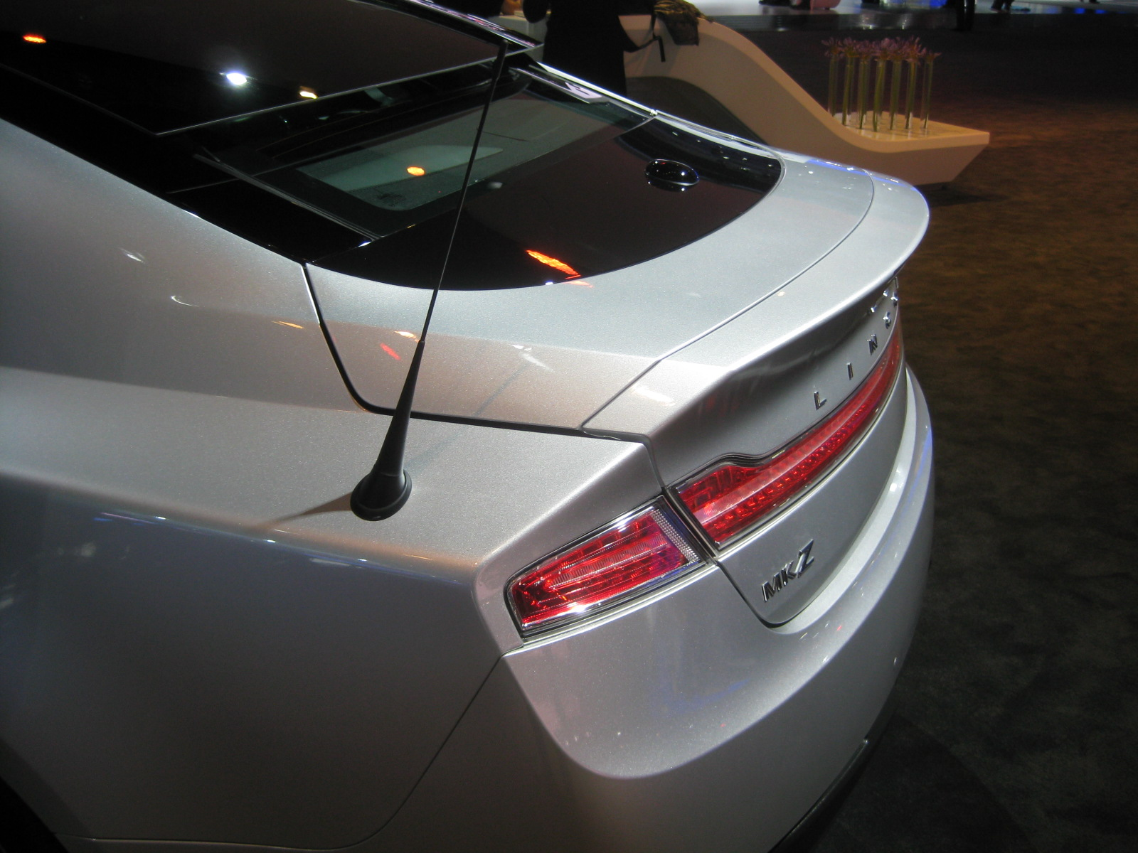 Lincoln 2013 Mkz Rear Detail Antenna Todd Biancos 2014 Ford Focus 2012 Los Angeles Auto Show Part 4