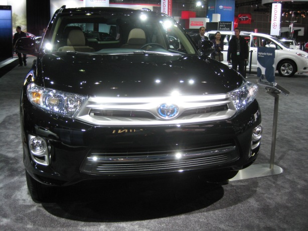 The 2014 Toyota Highlander Hybrid.