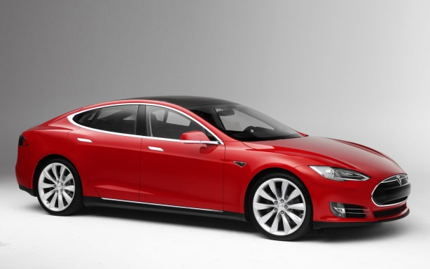 The very sexy and very fast 2013 Tesla Model S