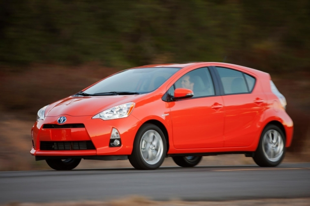 "The Prius c (""c"" for compact) was introduced in the first quarter of 2012 and was an instant hit from the beginning, despite tepid reviews. It's based on the humble Yaris."