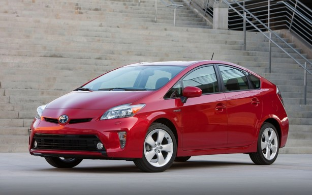 2013 Toyota Prius in the top trim level - Five.