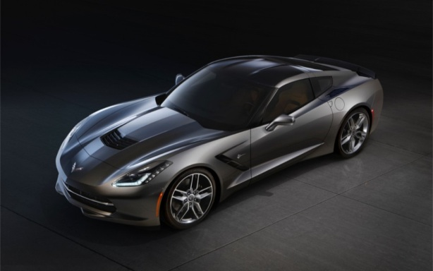 The 2014 Chevrolet Corvette Stingray.