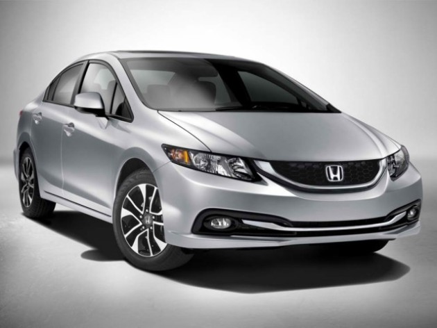 The heavily revised 2013 Honda Civic is sure to outsell the 2012 in 2013.
