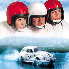 The Love Bug original movie poster.