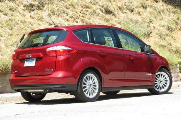 2013 Ford C-Max Hybrid - Rear