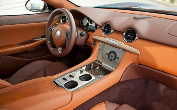 The Fisker Karma's interior looks nice, except there were lots of complaints about sloppy workmanship, poor fit/finish and cramped quarters.
