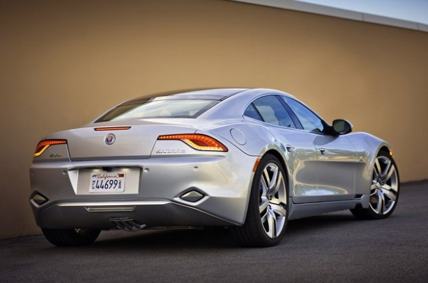 The Fisker Karma had a very fetching hind quarters belying its porky 5,300 curb weight.