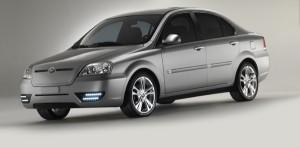 The Coda sedan. CODA Automotive's first and likely its last car.