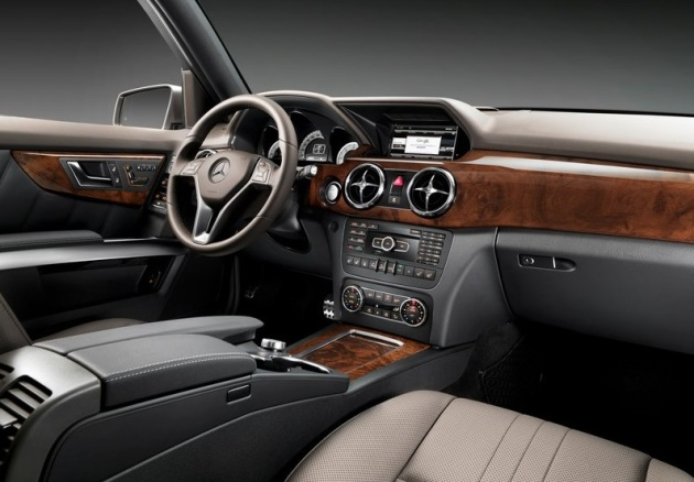 The interior of the new GLK looks like a nice place to spend time. Road trip anyone?