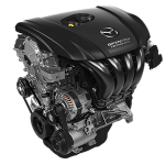 Mazda's 2.5L SKYACTIV-G engine.
