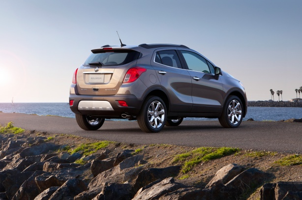 2013  Buick Encore (Exterior is identical to the 2014 model)