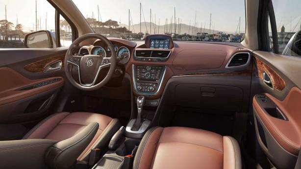 2014 Buick Encore Interior - Premium Trim level.