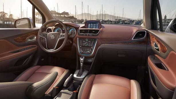 2014 Buick Encore Interior - Premium Trim level.
