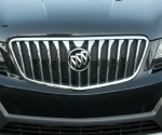 The Buick waterfall grille is very bright. I like the new stylized tri-shield Buick badge.