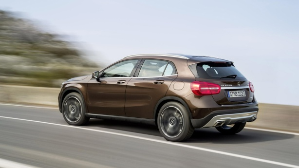 The upcoming 2015 Mercedes-Benz GLA250 will offer more cargo capacity and the versatility of a CUV.