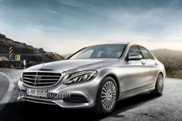 Leaked image of the 2015 Mercedes-Benz C-Class