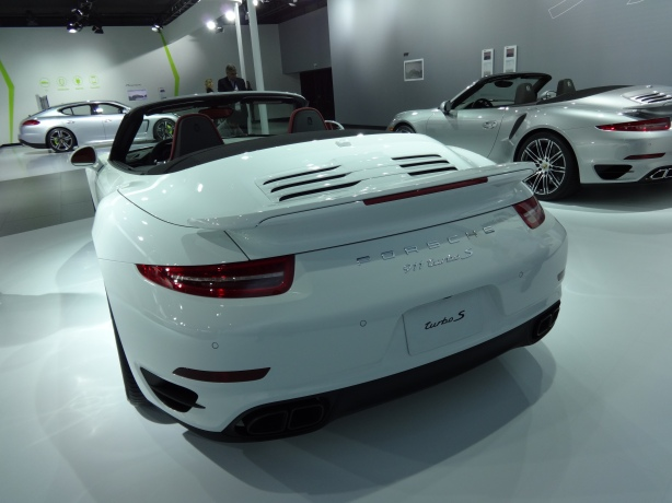 LAAutoShow Day 1 005 Porsche 911 Turbo S Rear