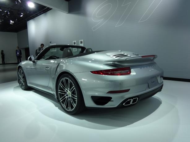 LAAutoShow Day 1 007 Porsche 911 Turbo Cabriolet