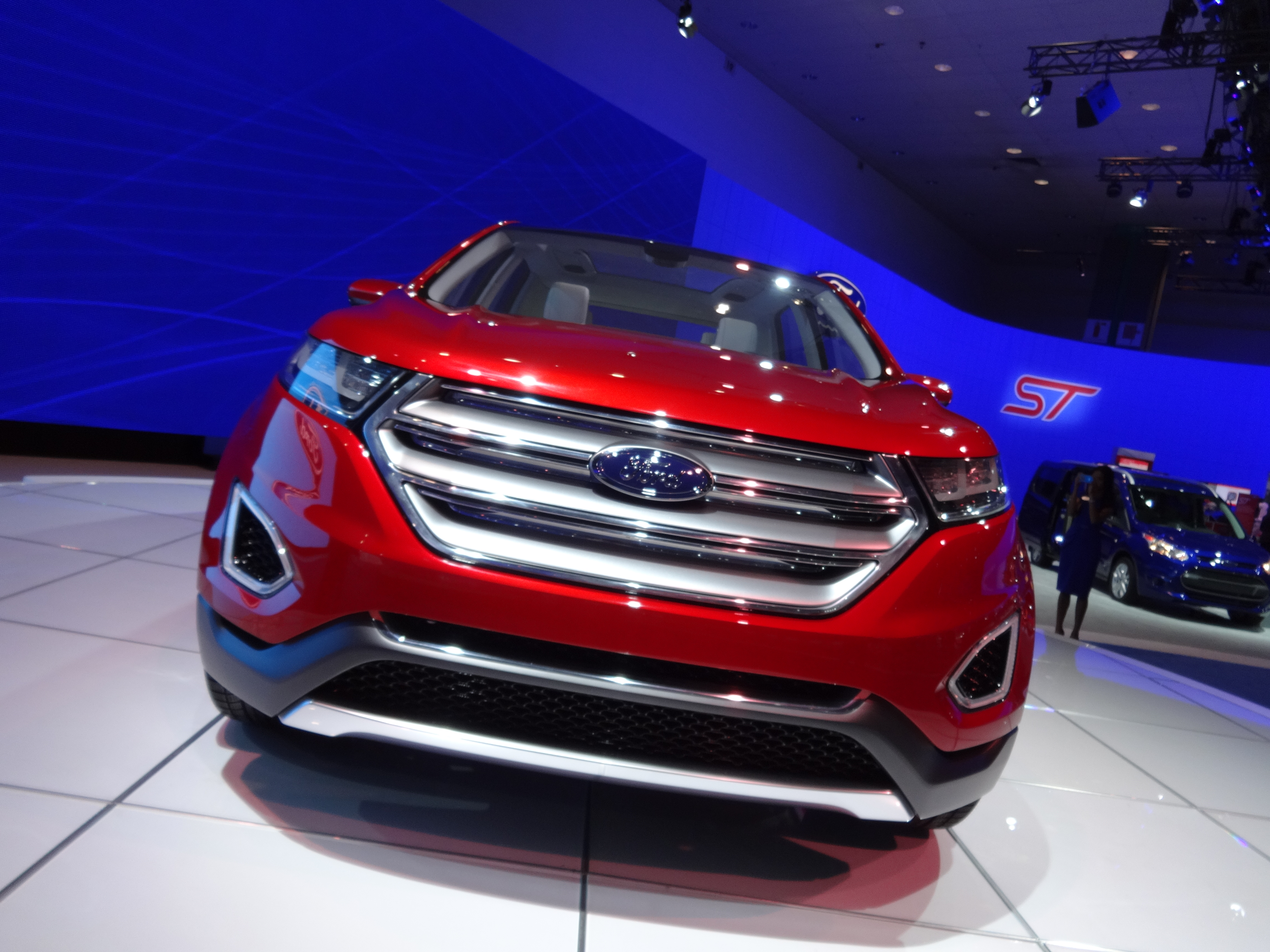 Laautoshow Day   Ford Edge Concept