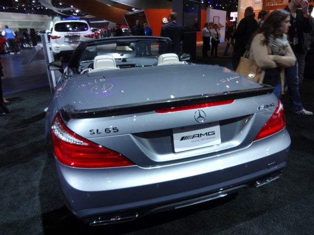 LAAutoShow Day 1 108 Mercedes SL 65 AMG rear