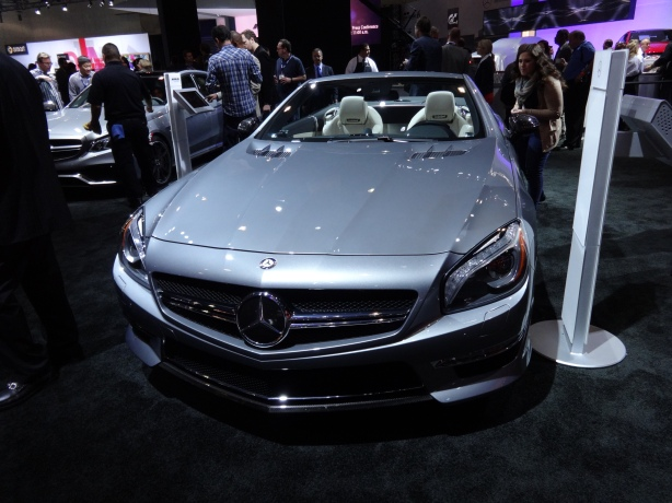 LAAutoShow Day 1 112 Mercedes SL65 AMG front