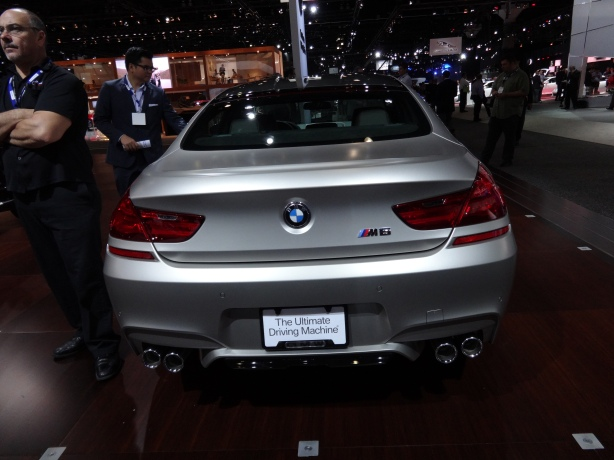 LAAutoShow Day 1 130 2014 BMW M6 Gran Coupe rear