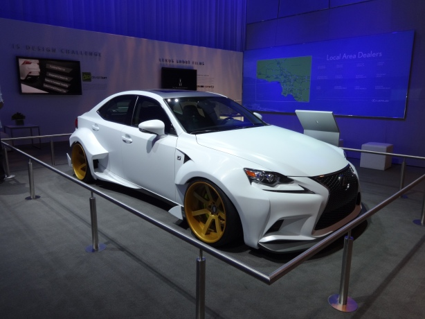 LAAutoShow Day 1 141 Lexus deviantART IS F-Sport
