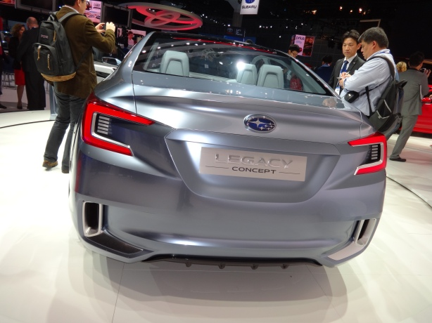 LAAutoShow Day 1 184 Subaru Legacy Concept rear