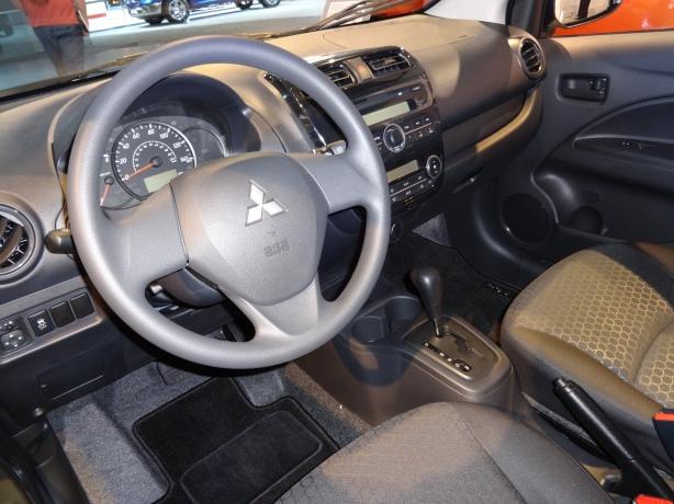 LAAutoShow Day 2 (12) 2014 Mitsubishi Mirage DE int