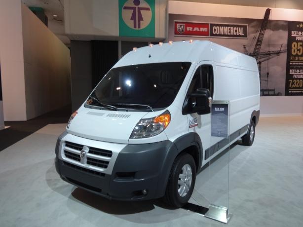 LAAutoShow Day 2 (14) 2014 Ram 3500 Promaster Cargo Van