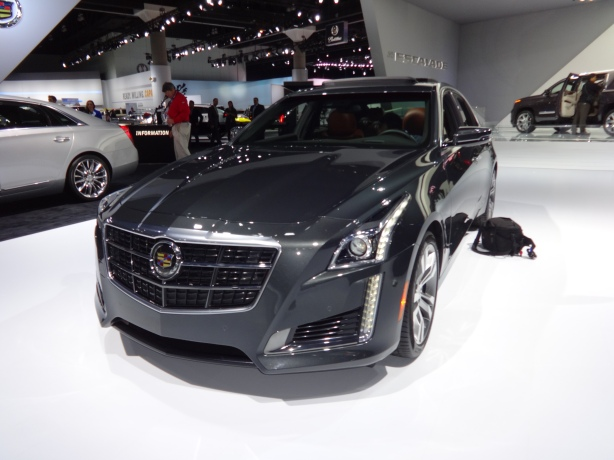 LAAutoShow Day 2 (21) 2014 Cadillac CTS front