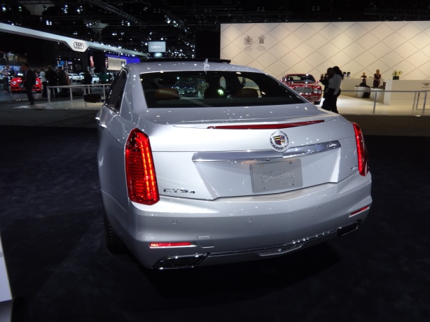 LAAutoShow Day 2 (22) 2014 Cadillac CTS rear