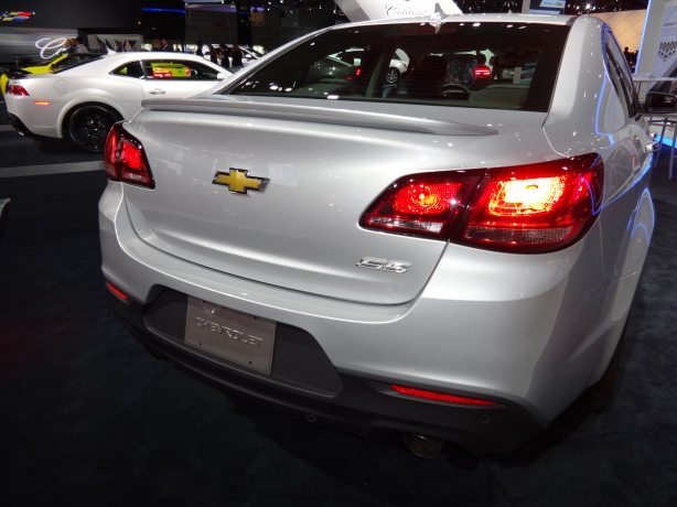 LAAutoShow Day 2 (31) 2014 Chevy SS rear