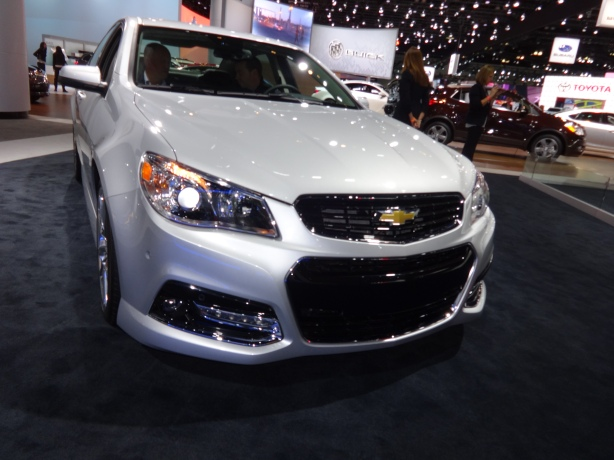 LAAutoShow Day 2 (32) 2014 Chevy SS front