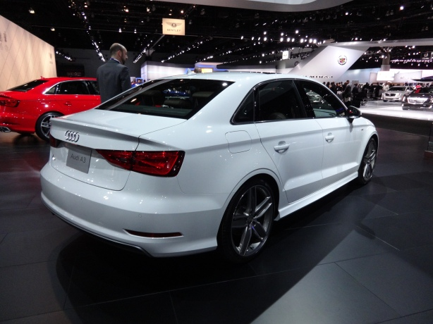 LAAutoShow Day 2 (69) 2015 Audi A3 sedan rear